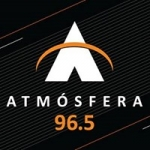 Logo da emissora Radio Atmosfera 96.5 FM