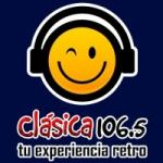 Logo da emissora Radio Clásica 106.5 FM