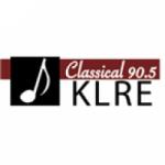 Logo da emissora KLRE 90.5 FM