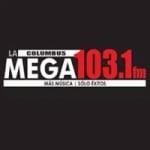 Logo da emissora La Mega 103.1 FM