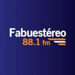 Logo da emissora Radio Fabustereo 88.1 FM