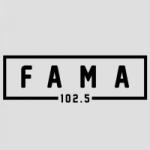 Logo da emissora Radio Fama 102.5 FM
