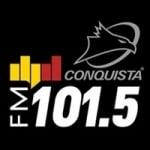Logo da emissora Rádio Conquista Litoral