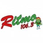 Logo da emissora Radio Ritmo 106.3 FM