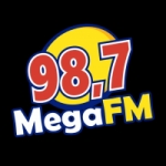 Logo da emissora Rádio Mega 98 FM