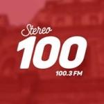 Logo da emissora Radio Stereo Cien 100.3 FM
