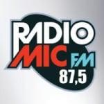 Logo da emissora Rádio Mic 87.5 FM