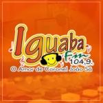Logo da emissora Rádio Iguaba 104.9 FM