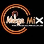 Logo da emissora Rádio Mega MIX