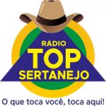 Logo da emissora Rádio Top Sertanejo DF