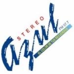 Logo da emissora Radio Stereo Azul 97.7 FM
