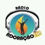 Logo da emissora Rádio Adoração FM