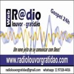 Logo da emissora Rádio Louvor Gratidão