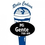 Logo da emissora Radio Cadena Mi Gente 700 AM