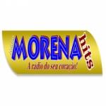 Logo da emissora Rádio Morena Hits