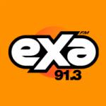 Logo da emissora Radio Exa 91.3 FM
