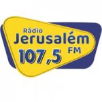 Logo da emissora Rádio Jerusalém 107.5 FM