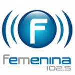 Logo da emissora Radio Femenina 102.5 FM