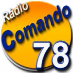 Logo da emissora Rádio Comando 78