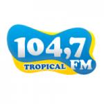 Logo da emissora Rádio Tropical 104.7 FM