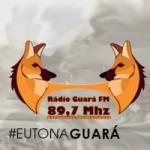 Logo da emissora Rádio Guara 87.9 FM