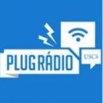 Logo da emissora Plug Rádio USCS