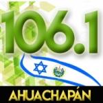 Logo da emissora Radio Estereo Vision 106.1 FM