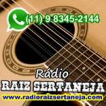 Logo da emissora Rádio Raiz Sertaneja
