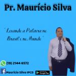 Logo da emissora Pr Mauricio Silva