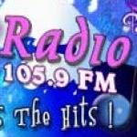 Logo da emissora Radio Wave 105.9 FM