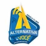 Logo da emissora Alternativa e Você