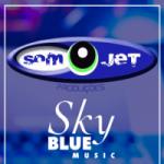Logo da emissora Som Jet Produções