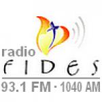 Logo da emissora Radio Fides 93.1 FM 1040 AM