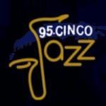 Logo da emissora Radio Jazz 95.5 FM