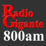 Logo da emissora Radio Gigante 800 AM