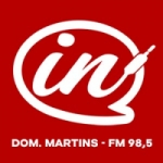 Logo da emissora Rádio IN 98.5 FM