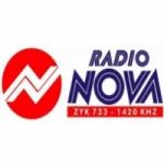 Logo da emissora Rádio Nova São Manuel 1420 AM