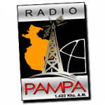 Logo da emissora Radio Pampa 1420 AM