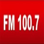 Logo da emissora Radio 100.7 FM