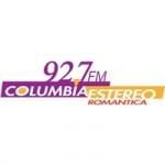 Logo da emissora Radio Columbia Estereo 92.7 FM
