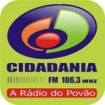 Logo da emissora Rádio Cidadania 106.3 FM