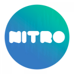 Logo da emissora Rádio Nitro