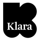 Logo da emissora Radio Klara 89.5 FM