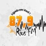 Logo da emissora Rádio Rios FM