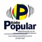 Logo da emissora Rádio Popular