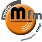 Logo da emissora Radio M FM 107.6 FM