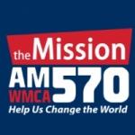 Logo da emissora WMCA 570 AM