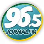 Logo da emissora Rádio Jornal 96.5 FM