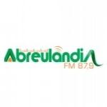 Logo da emissora Rádio Abreulândia 87.9 FM