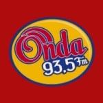 Logo da emissora Rádio Onda 93.5 FM